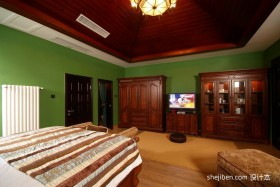 小复式楼卧室装修效果图 复式楼装修样板间