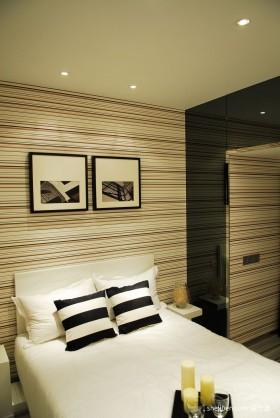 50平米现代风格小户型家装卧室设计效果图