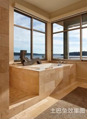 卫生间瓷砖效果图 卫生间墙面装饰