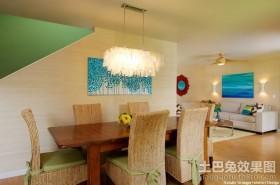 小餐厅装修效果图 客厅餐厅装修效果图
