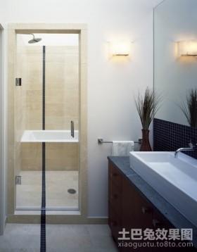 小户型卫生间70平米小户型装修样板间洗手间