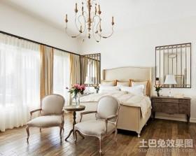 欧式卧室装修效果图 欧式卧室窗帘效果图