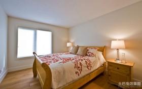 简约美式小卧室装修效果图