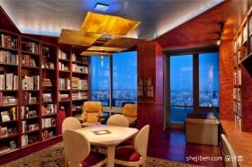 现代书房装修设计效果图片大全