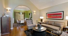 120平米家装客厅效果图