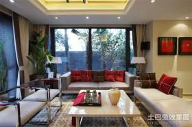 现代风格婚房客厅设计效果图