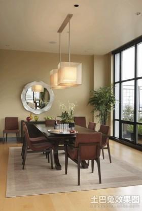 欧式风格三房两厅装修效果图 3室两厅餐厅吊顶装修效果图