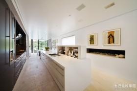 简约风格别墅厨房整体橱柜装修效果图大全2012图片