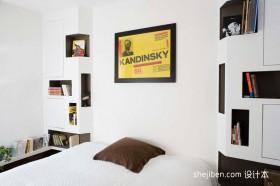 现代简约40平米小户型卧室装修效果图