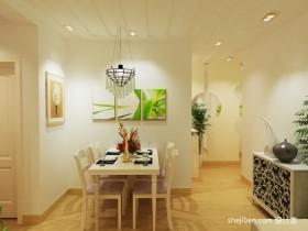 田园风格70平米小户型装修图片 小户型餐厅装修效果图