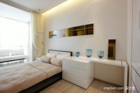 小户型卧室装修效果图大全2012图片 现代简约卧室飘窗装修效果图