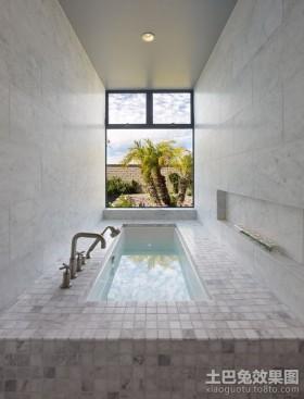 室内现代简约风格卫生间装修效果图