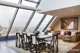 两室一厅90平装修阁楼餐厅效果图