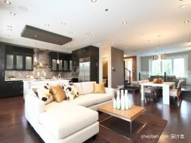 90平米两室一厅客厅装修图效果图