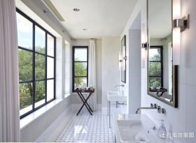 四室二厅二卫洗手间装修效果图