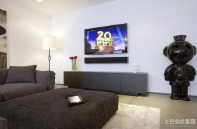 现代简约风格装修客厅设计图片
