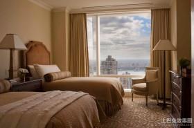 115平米四室两厅卧室装修