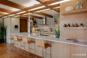 美式风格厨房样板房