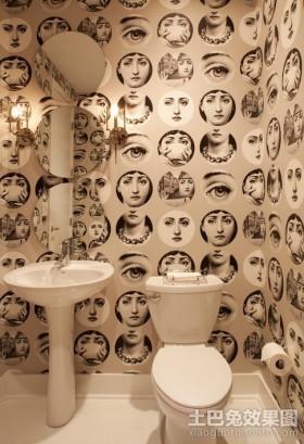 卫生间壁纸装饰效果图