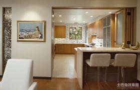 2012厨房吧台装修效果图