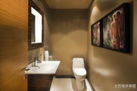 四室两厅现代简约室内卫生间装修效果图