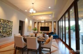 四居室餐厅装修效果图大全2012图片