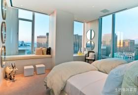 客房卧室装修效果图简洁清爽