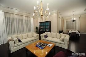 最新现代欧式装修设计客厅效果图