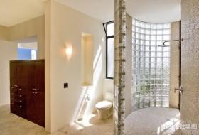 现代简约风格家装卫生间图片