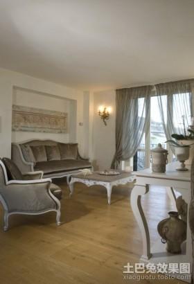奢华一族沙发最新欧式风格装修设计客厅效果图