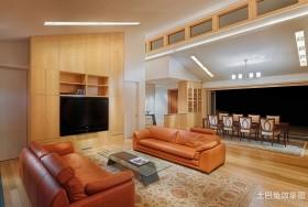 2012最新别墅装修 现代客厅装修效果图