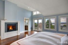 欧式温暖的卧室装修效果图