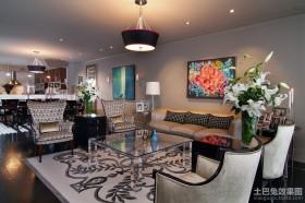 两室一厅装修效果图 现代风格客厅装饰