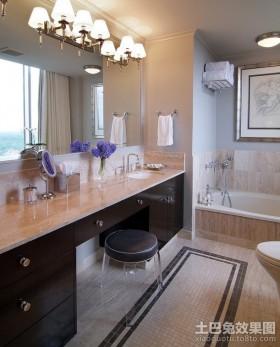 两室一厅装修效果图 现代风格卫生间装饰