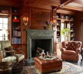美式田园风格客厅效果图片