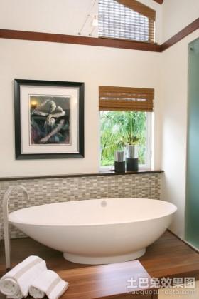 简约风格设计卫生间装修效果图