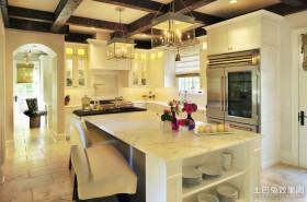 2012开放式厨房装修效果图