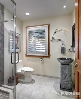 复式楼卫生间装修效果图片