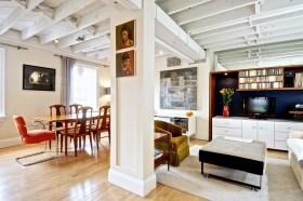 最新现代简约客厅装修效果图