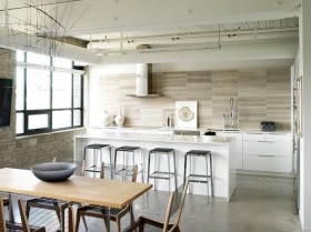 简单厨房吧台装修效果图大全
