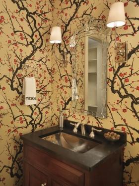 洗手间壁纸装修效果图