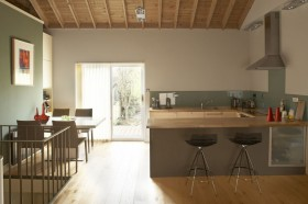 农村小复式厨餐厅吧台装修效果图