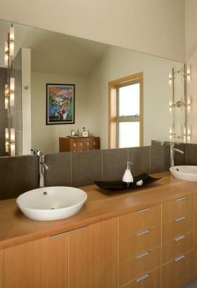欧式古典家具卫生间洗手台图片