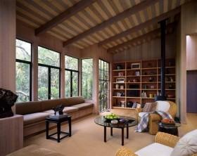 美式田园风格设计客厅装修效果图