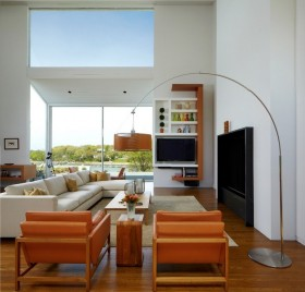 独栋别墅图片大全 现代客厅装修效果图