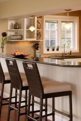 厨房吧台装修效果图大全
