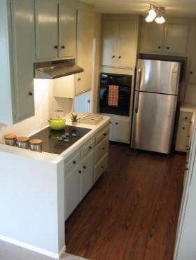 60平米两室一厅厨房装修效果图