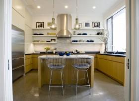70平米两室一厅装修效果图 简约小厨房装修