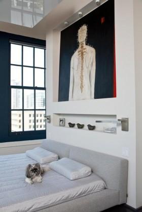 最新卧室床头背景墙效果图
