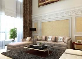 客厅吊顶 客厅沙发背景墙装修